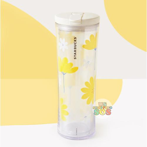 Starbucks China - Summer Blossom 2020 - Summer Flower Bloom Sippy Tumbler 591ml
