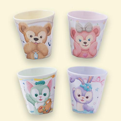 TDR - Duffy & Friends - Plastic Cups Set