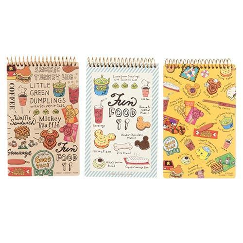 TDR - Food Theme - Memo Note Book Set