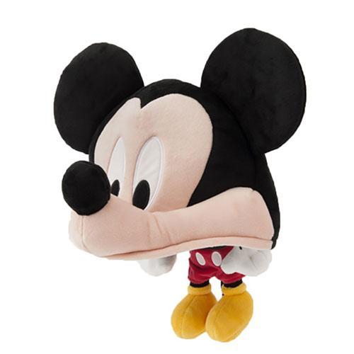 TDR - Big Head Plush Hat - Mickey Mouse