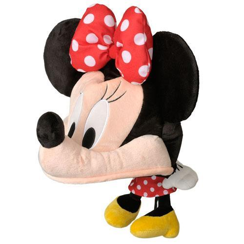 TDR - Big Head Plush Hat - Minnie Mouse