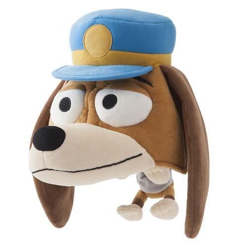 TDR - Big Head Plush Hat - Slinking Dog