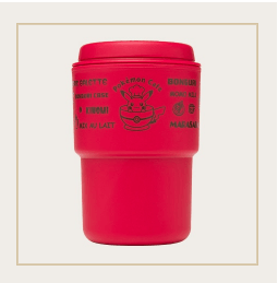 Japan Exclusive - Pokémon Cafe Logo RIVERS Wall Mug (Red)