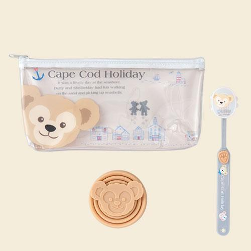 TDR - Cape Cod Holiday Collection - Duffy Toothbrush with Cup Set
