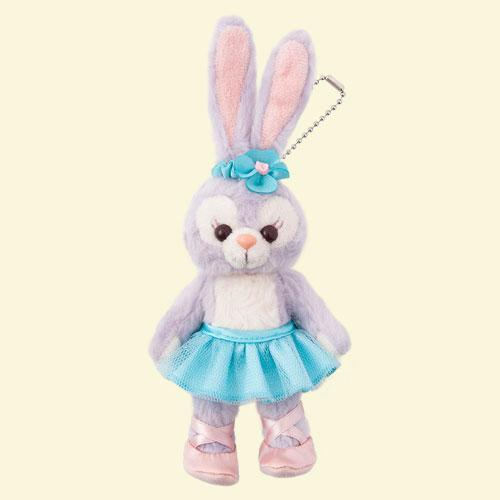 TDR - Duffy & Friends - Plush Keychian x StellaLou with Ballet Costume