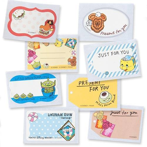 TDR - Food Theme - Note Stickers