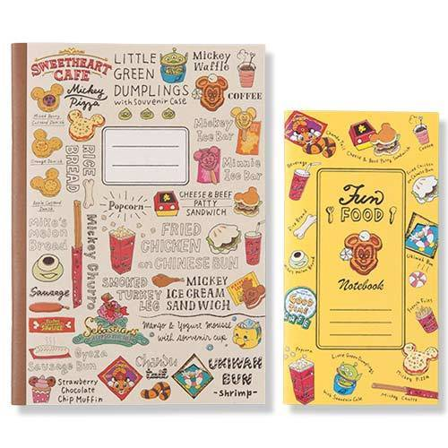 TDR - Food Theme - Note Book Set