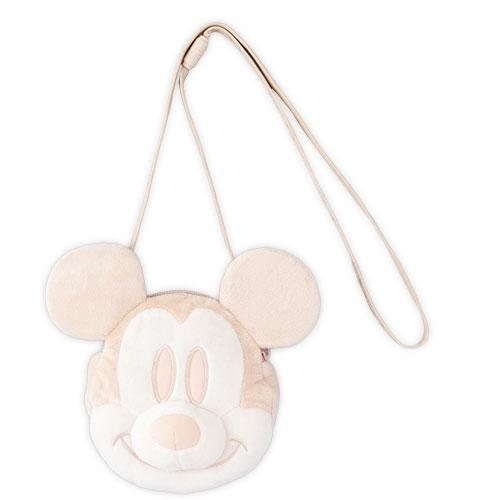 TDR - Crossbody Plush Passholder - Mickey Mouse (White)