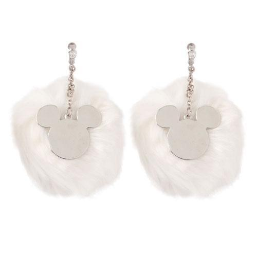 TDR - Fluffy Earrings x Mickey Mouse