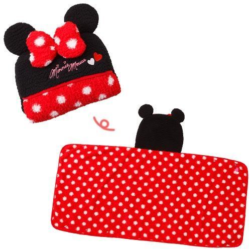 TDR - 2018 Winter Collection- Blanket x Minnie Mouse