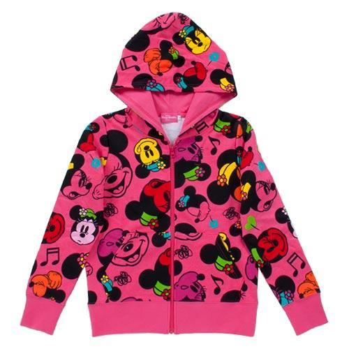 TDR - Hoodies Jacket x All-Printed Minnie Mouse (Red)