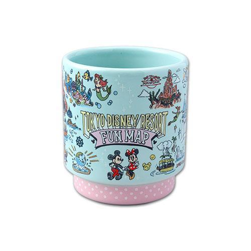 TDR - Tokyo Disney Resort Fun Map Collection - Mug