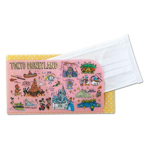 TDR - Tokyo Disney Resort Fun Map Collection - Mask Case