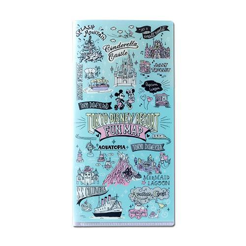 TDR - Tokyo Disney Resort Fun Map Collection - Folder