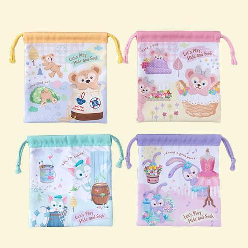 TDR - Let's Play Hide & Seek Collection - Drawstring Bags Set