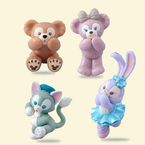 TDR - Let's Play Hide & Seek Collection - Duffy's & Friends Cup Figures (Individual)