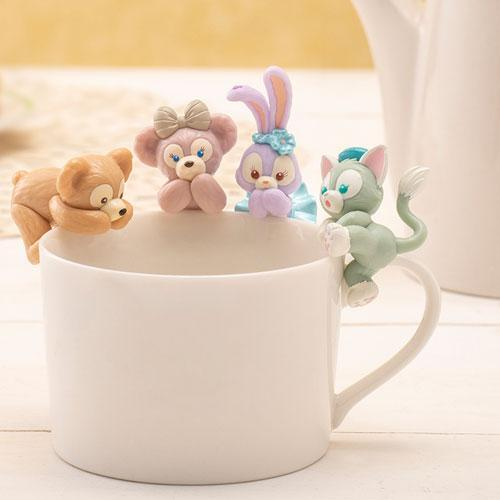 TDR - Let's Play Hide & Seek Collection - Duffy's & Friends Cup Figures Set