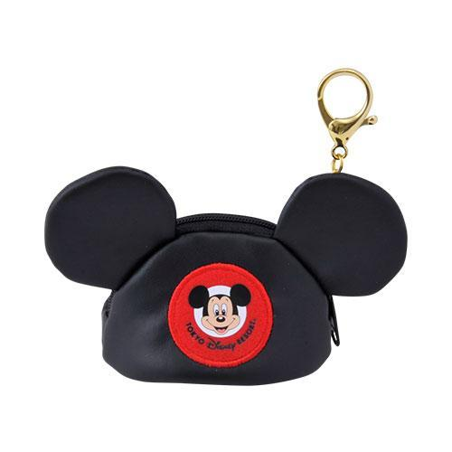 TDR - Mickey Ear Shape Small Pouch x Keychain