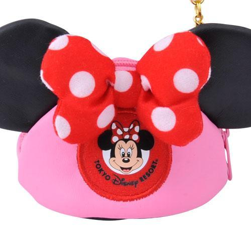 TDR - Minnie Ear Shape Small Pouch x Keychain