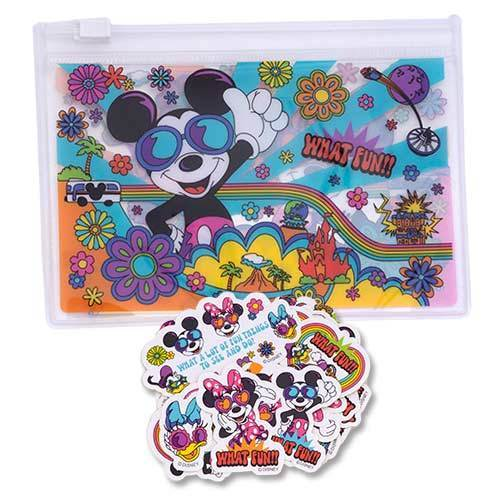 TDR - Flower Collection - Stickers with Clear Bag
