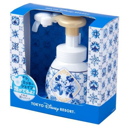 TDR - Mickey & Minnie Mouse Hand Soap Bottle + Dispenser