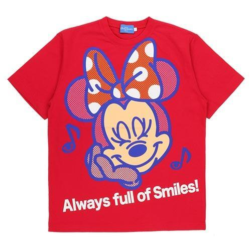 TDR - Always full of Smiles! Collection - Unisex Tee x Minnie Mouse
