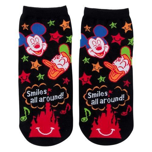 TDR - Always full of Smiles! Collection - Socks x Mickey & Donald Duck