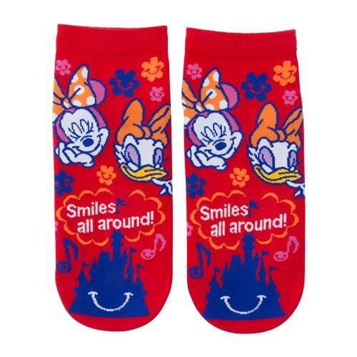 TDR - Always full of Smiles! Collection - Socks x Minnie & Daisy Duck