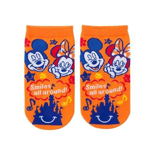 TDR - Always full of Smiles! Collection - Socks x Mickey & Minnie Mouse