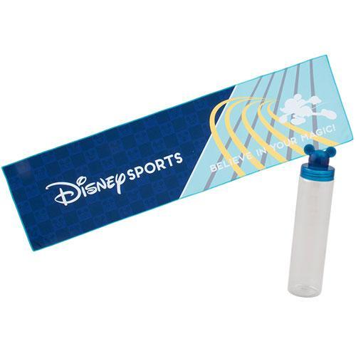 TDR - Disney Sport Collection - Cool Feeling Towel (Blue)