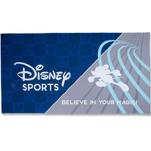 TDR - Disney Sport Collection - Cool Feeling Big Towel (Grey)