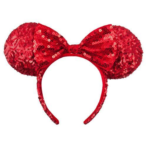 TDR Minnie Red Ruby Collection - Sequin Headband