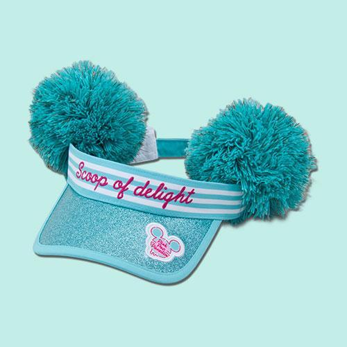 TDR - Pink Pop Paradise Collection - Pom Pom Visor (Pre-Order)