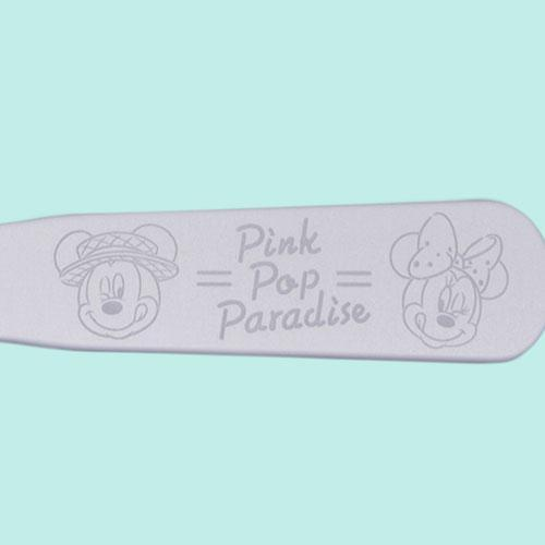 TDR - Pink Pop Paradise Collection - Aluminum ice cream Spoon
