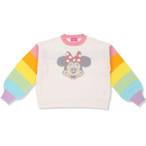 TDR - Sweater (For Women) x Minnie Mouse Rainbow Colors