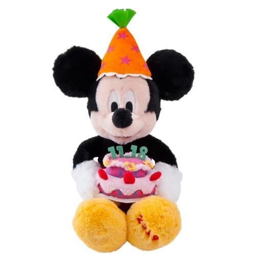 "TDR - ""Happy Birthday to Mickey & Minnie"" Collection - Plush Toy x Mickey Mouse"