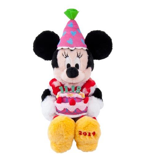 "TDR - ""Happy Birthday to Mickey & Minnie"" Collection - Plush Toy x Minnie Mouse"