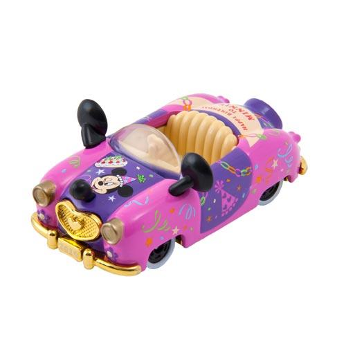 "TDR - ""Happy Birthday to Mickey & Minnie"" Collection - Tomica Toy Car (Color: Pink)"