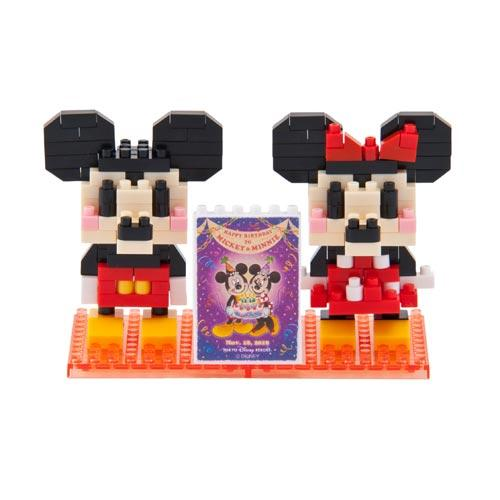 "TDR - ""Happy Birthday to Mickey & Minnie"" Collection - Nano Block"