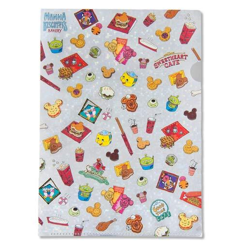 TDR - Food Theme - A4 Clear File/Folder