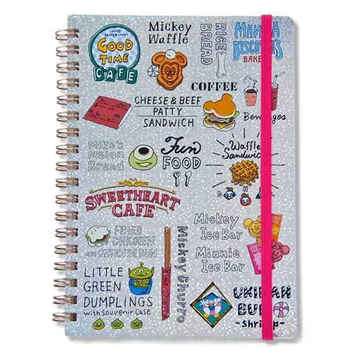 TDR - Food Theme - Notebook