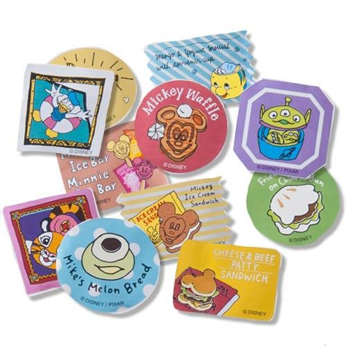 TDR - Food Theme - Stickers (11 Patterns)