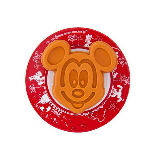 TDR - Food Theme -Mickey Mouse Waffle Shaped Eraser