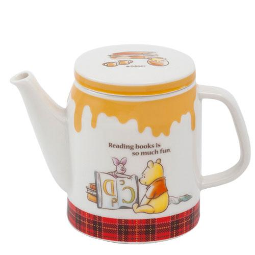 TDR - Pooh & Piglet Honey Plaid - Tea Pot