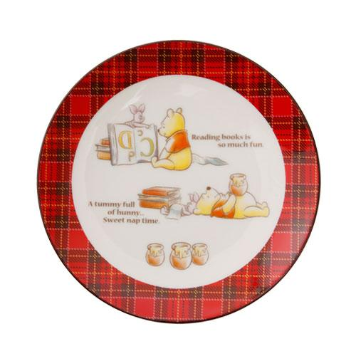 TDR - Pooh & Piglet Honey Plaid - Small Plate