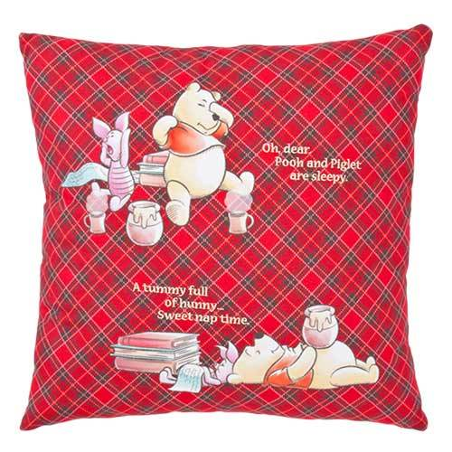 TDR - Pooh & Piglet Honey Plaid - Cushion