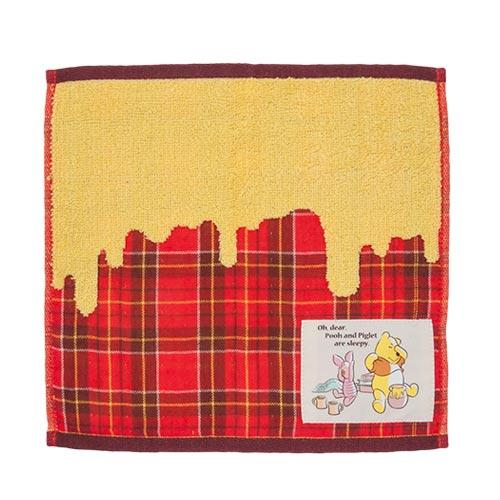 TDR - Pooh & Piglet Honey Plaid - Mini Towel