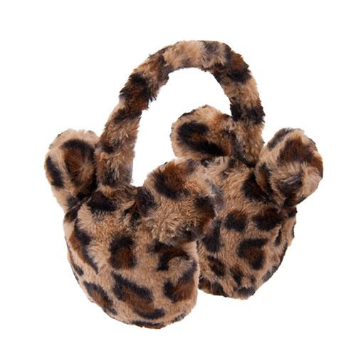 "TDR - ""Animal Print"" Collection - Mickey Icon Ear Muffle"