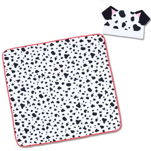 TDR - Beanie & Blanket Set for Babies - Dalmatian