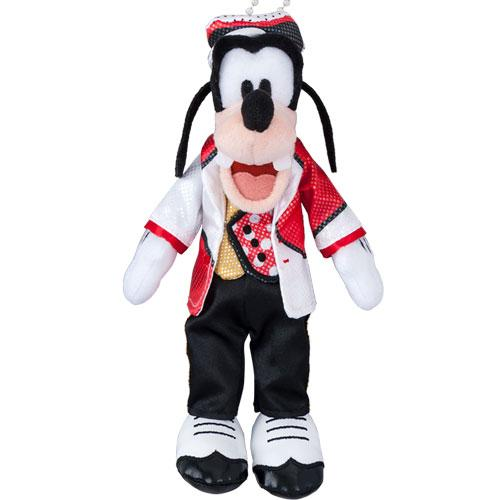 TDR - Very Very MINNIE! - Plush Keychain with Badge x Goofy